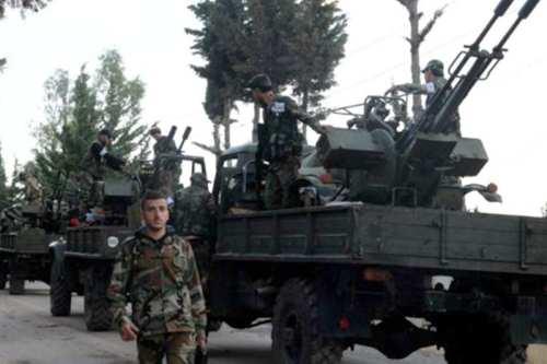 Las fuerzas del régimen sirio entran en el bastión de…