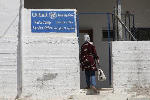 El jefe de la UNRWA critica el plan de paz…