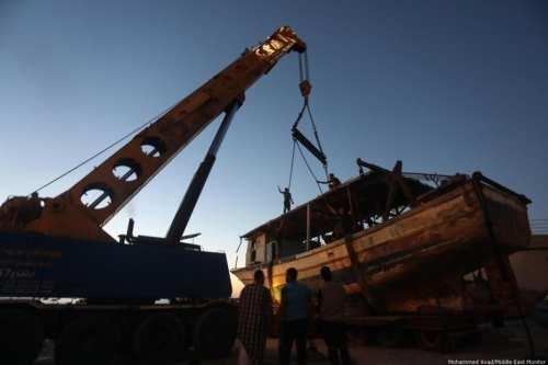 Israel devolverá 20 barcos a los pescadores de Gaza