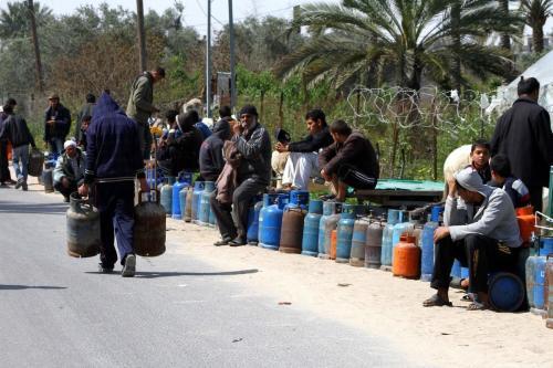 Gaza extrae gas para cocinar del estiércol de los animales