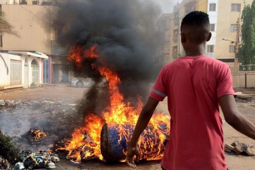 Sudán declara que 87 personas murieron y 168 resultaron heridas…
