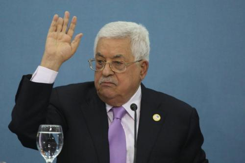 El presidente palestino advierte a Israel por las declaraciones de…