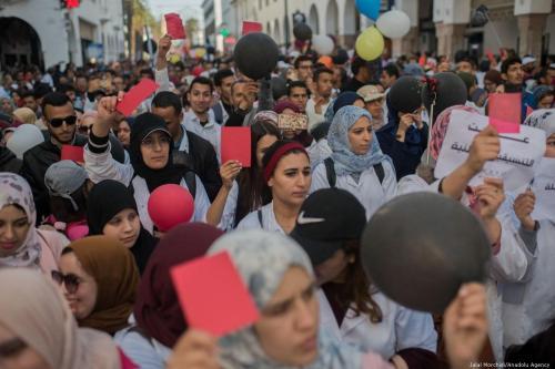 """Activistas de Marruecos y políticos se oponen a la """"francofonización""""…"""