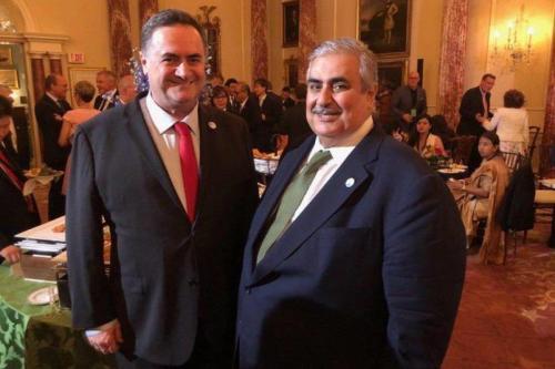 """Ministro de Relaciones Exteriores de Israel: """"Es 'realista' esperar relaciones…"""