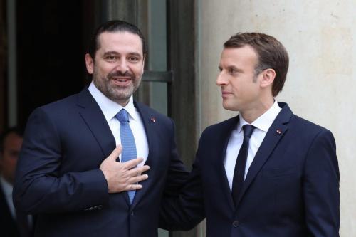 Macron pide a Hariri que proporcione una tregua en las…