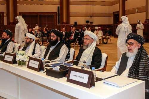 La delegación talibán llega a Teherán para discutir un acuerdo…