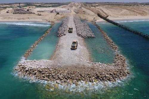 Israel completa el 70% de la barrera subterránea a lo…