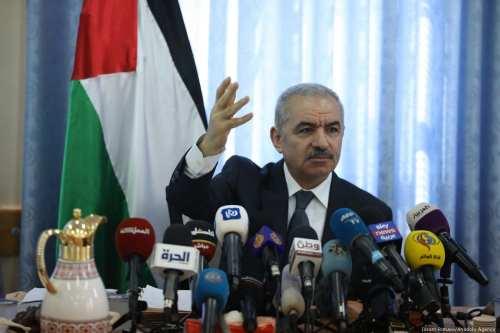 El primer ministro de Palestina pide a la Unión Europea…