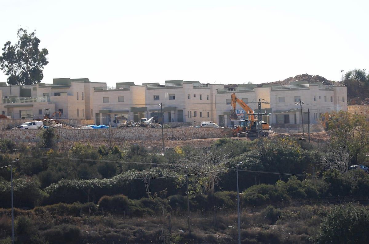 Una visión general del asentamiento judío halamish después de que Estados Unidos anunció que los asentamientos israelíes en Cisjordania no violan el derecho internacional, en Ramallah, Cisjordania el 20 de noviembre de 2019. [Issam Rimawi - Agencia Anadolu]