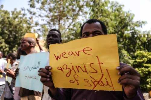 Los manifestantes de Sudán rechazan una reunión secreta con Israel