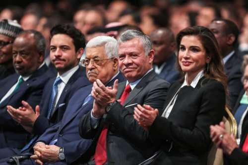 """El rey de Jordania confirma su """"firme"""" postura sobre la…"""