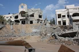 Bombardeo israelí de Gaza - archivo