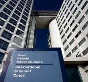 Edificio de la Corte Penal Internacional [Foto de archivo]