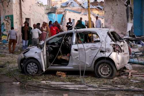 Somalia: Bomba mata a 10 personas e hiere a más…