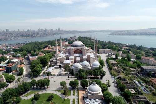"""Ministerio de Relaciones Exteriores de Turquía: """"Cualquier decisión sobre Hagia…"""