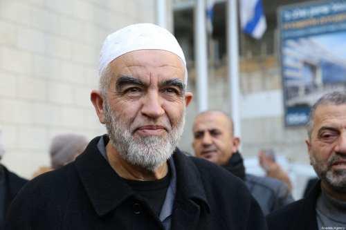 Israel mantiene la pena de prisión contra el sheikh Raed…
