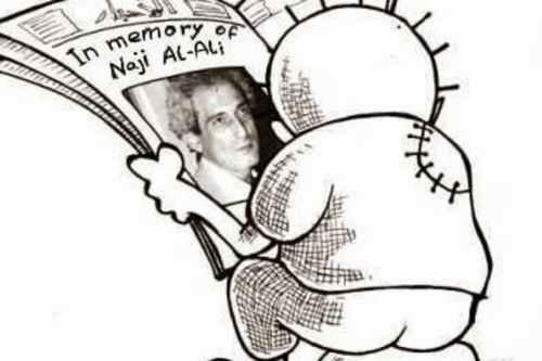 Recordando al caricaturista palestino Naji Al-Ali