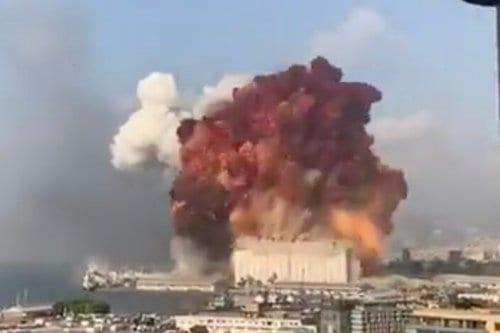 Ultima hora: Gran explosión en Beirut