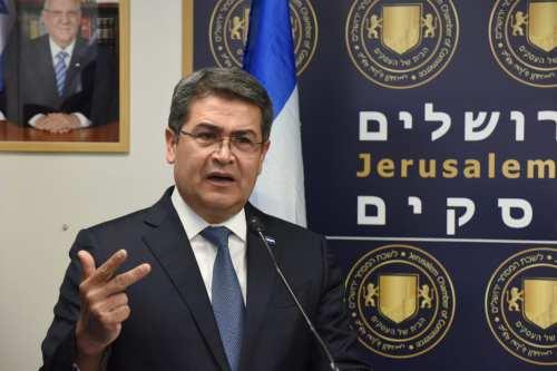 Honduras planea abrir su embajada en Jerusalén a finales de…