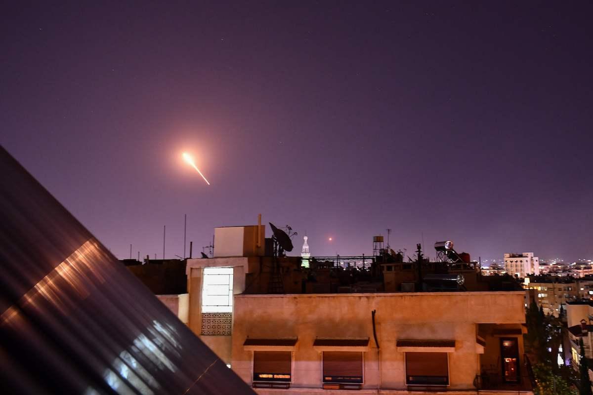 Siria: Israel atacó con misiles la zona de Alepo