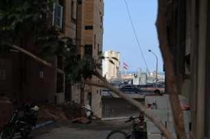 Una vista del puerto de Beirut tras la explosión que sacudió la capital libanesa el 4 de agosto de 2020, tomada el 23 de septiembre de 2020 [Charline Bou Mansour/Middle East Monitor]
