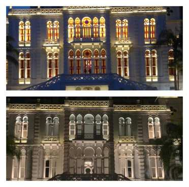El antes y el después del Museo Sursock en Beirut, Líbano
