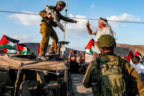 A pesar de la ambigüedad del derecho internacional, los palestinos…