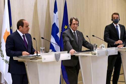 Turquía critica la declaración conjunta de Egipto, Chipre y Grecia
