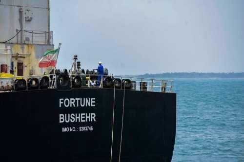 EE.UU. vende 1,1 millones de barriles de petróleo iraní después…