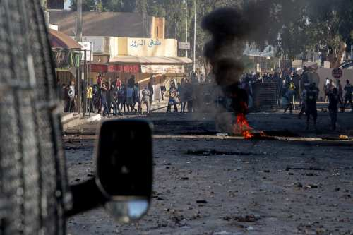 Protestas tras la muerte de un hombre que fue aplastado…