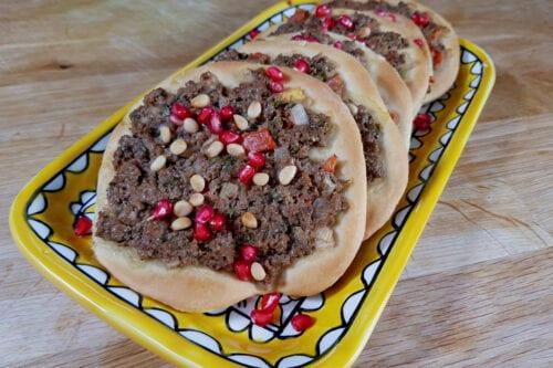 Sfeeha (pastelitos de carne)
