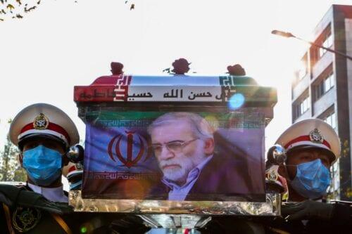 El mundo debería agradecernos el asesinato del destacado científico iraní,…