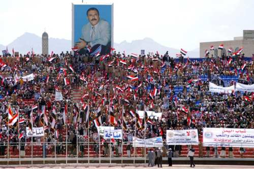 Presidentes rivales felicitan a Yemen en su Día de la…