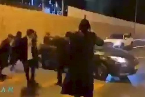 Colonos israelíes atacan a palestinos el día de Año Nuevo