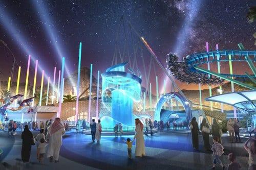 Arabia Saudita construirá la montaña rusa más rápida para atraer…