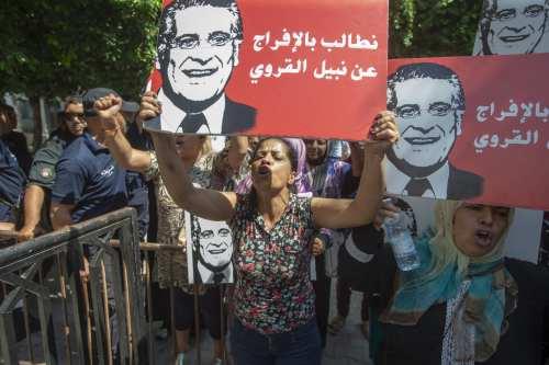El magnate de los medios de comunicación de Túnez queda…