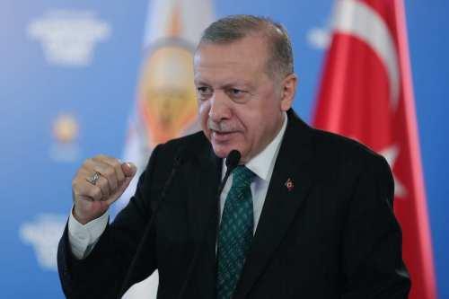 El presidente de Turquía ve la solución de dos estados…