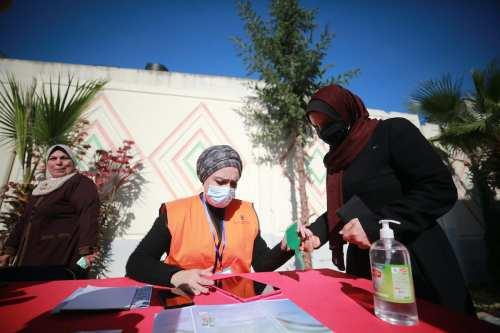 2,6 millones de palestinos se registran para participar en las…