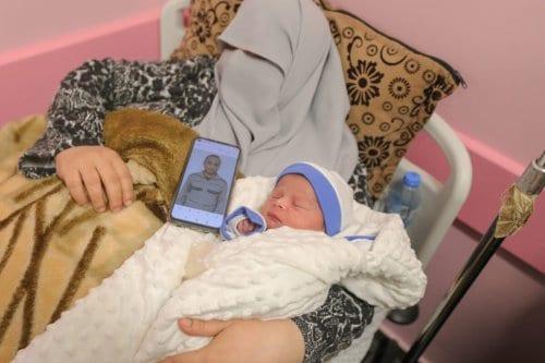 Nace el 96º bebé palestino con esperma introducido de contrabando…