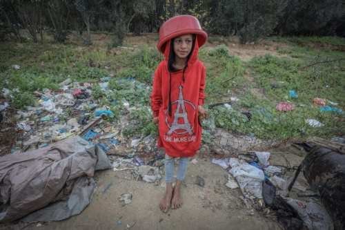 El comedor social de Gaza da un respiro a los…
