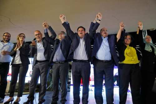 3 partidos árabo-israelíes acuerdan presentarse en una lista única