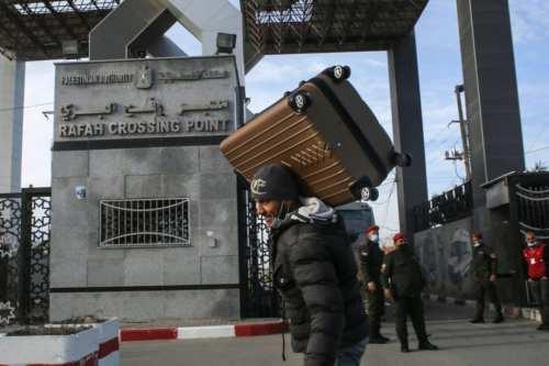 Egipto reabre el paso de Rafah indefinidamente