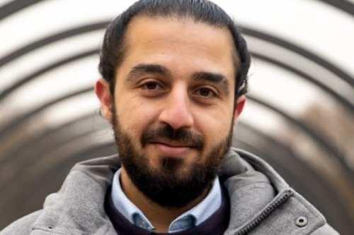 Un refugiado sirio se presenta al parlamento alemán