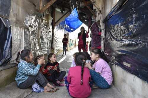 Refugiados sirios mueren de frío en la frontera con el…