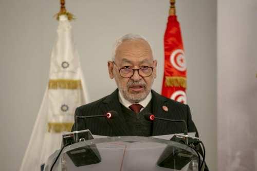 """Ghannouchi de Túnez: """"La disolución del Parlamento no es una…"""