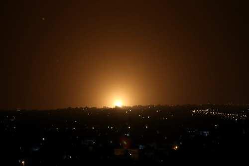 Aviones de guerra israelíes atacan Gaza