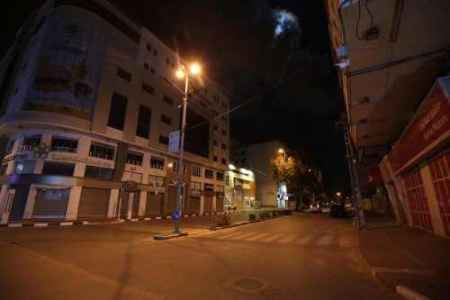 Gaza impone un toque de queda nocturno para hacer frente…