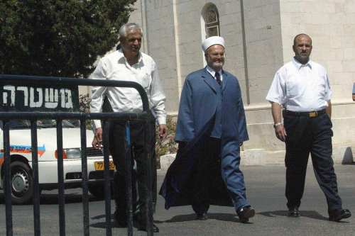 Israel detiene al sheikh Sabri, imam de la mezquita de…