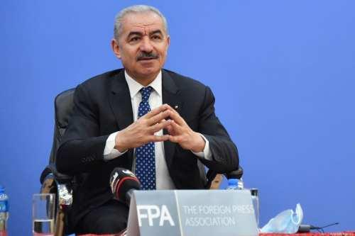 El primer ministro palestino pide a Estados Unidos que frene…