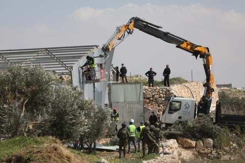 OCHA: Israel ha demolido y confiscado 20 estructuras palestinas en…